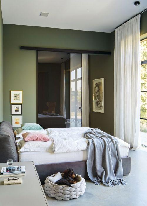 Wandgestaltung Grün So setzen Sie die Farbe effektvoll