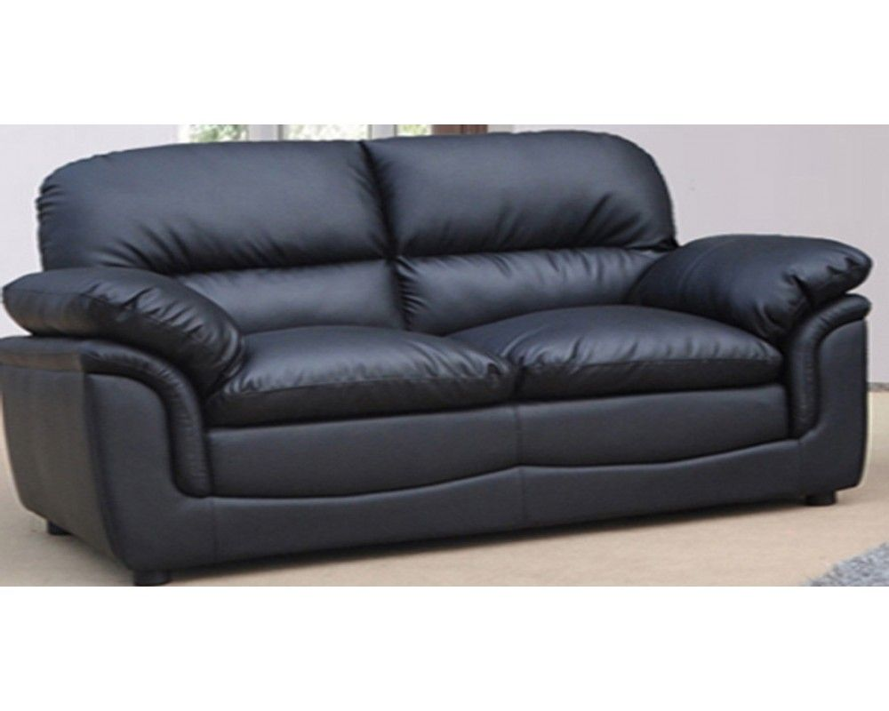 Black Leather 2 Seater Sofa Best Leather Sofa Black Sofa Sofa Bed Design