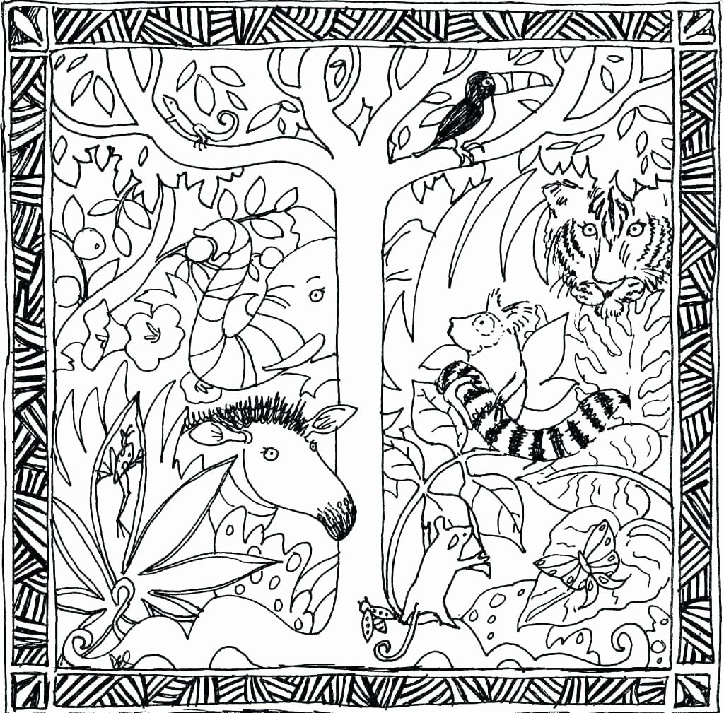 Rainforest Coloring Pages Printable Fresh Rainforest Trees Coloring Pages Justpage In 2020 Jungle Coloring Pages Coloring Pages Rainforest Animals