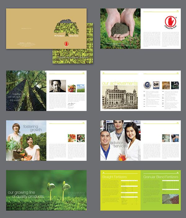 Beautiful Modern Brochure Design Ideas For Your Projects - Brochure template ideas
