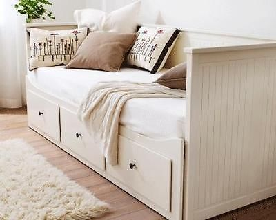 Daybed White Ikea Hemnes Day Bed Sofa Bed Double Bed 2 Mattresses Home Home Decor Hemnes Day Bed