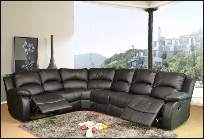 Leather Corner Sofa With Recliner Cornersofa