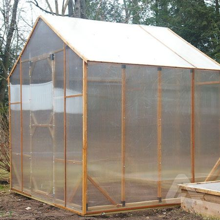 Polycarbonate Panels Ideal Greenhouse Covering For Cold