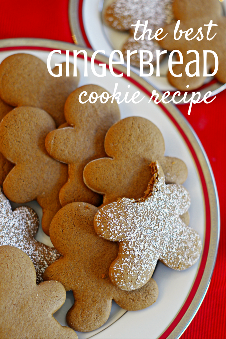 The Best Gingerbread Cookies Recipe Best gingerbread