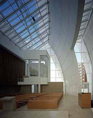 Jubilee church rome italy 1996 2003 richard meier for The jubilee church
