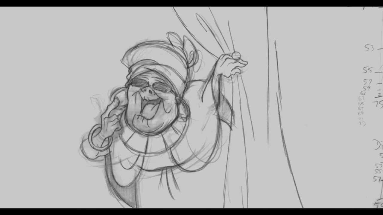 Mama odie tiedown animation