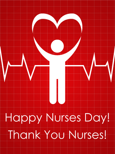 Nurses day heart beat card nurses rock celebrate all the nurses send free nurses day heart beat card to loved ones on birthday greeting cards by davia its free and you also can use your own customized birthday m4hsunfo