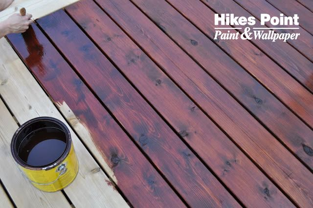 Australian Timber Oil By Cabot Stain Transforms The Wood On Your Deck To A Deep And Richer Color Available At Hikesp Staining Deck Deck Colors Decks Backyard