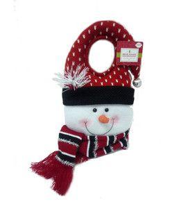 Door Knob Hanger  Snowman : Christmas Decor : Holiday U0026 Party : Shop | Joann