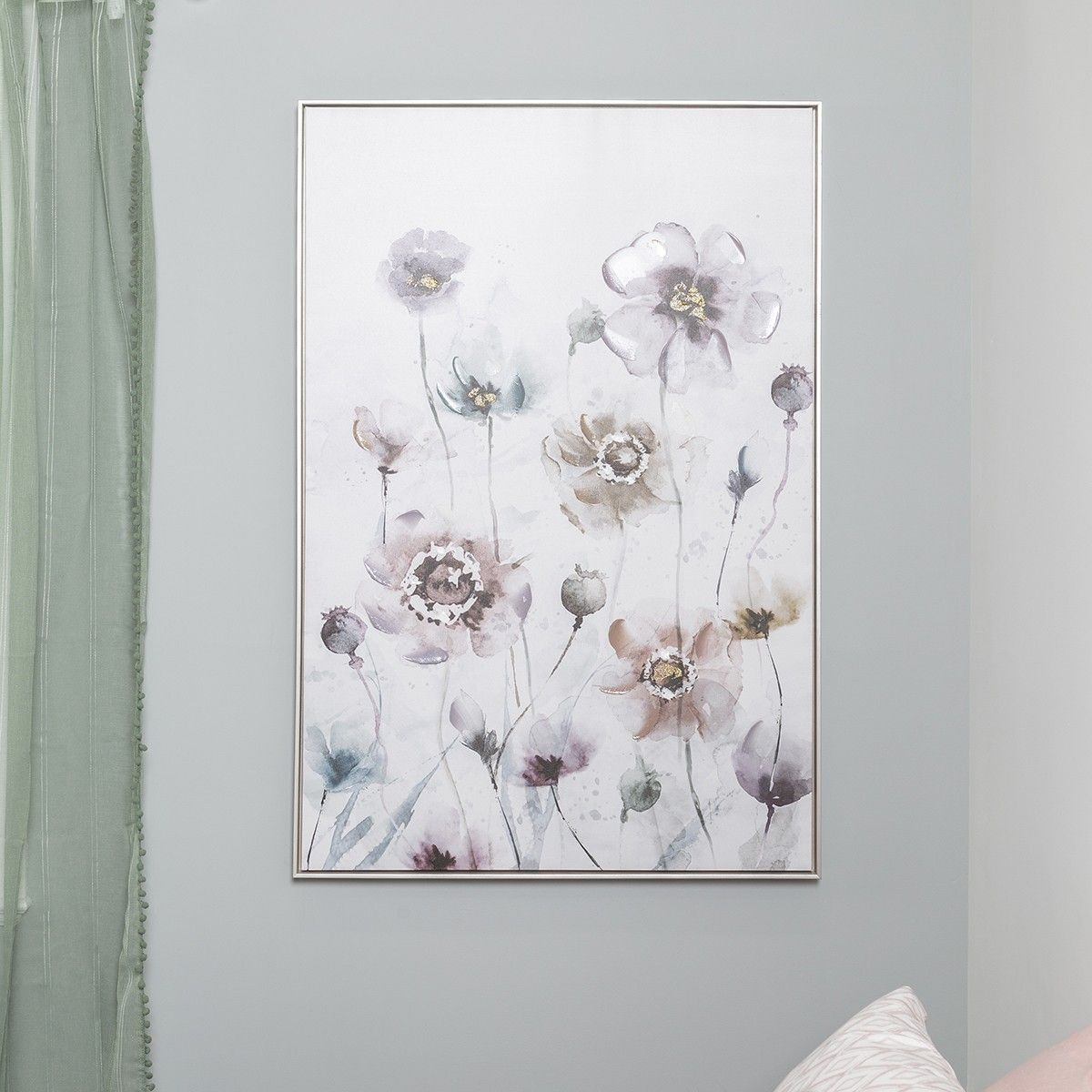 FRAME ART (Ink Painting Flower) (With Images)