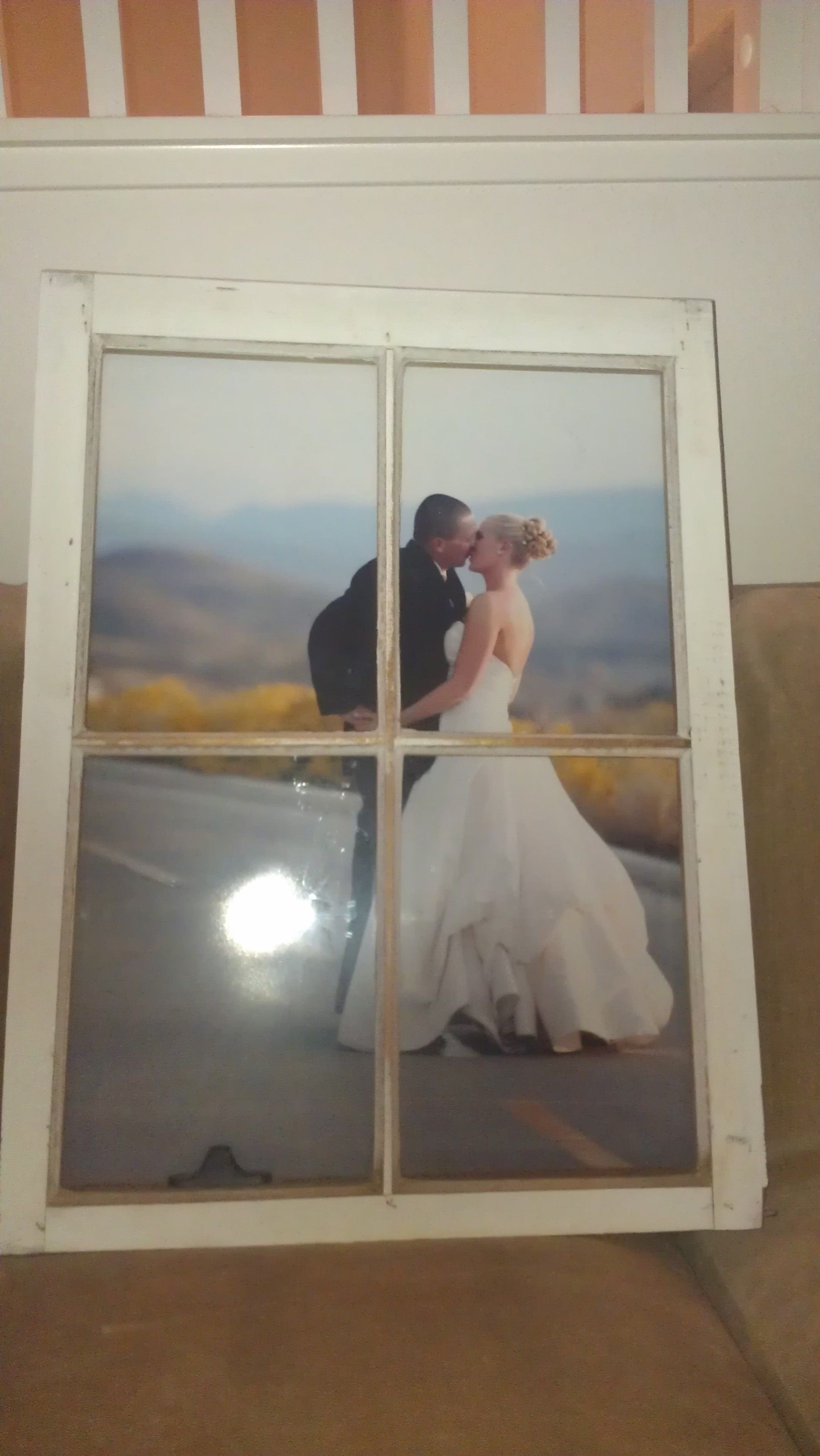 Diy Window Pane Frames 1 Year Anniversary Gift For The Hubby