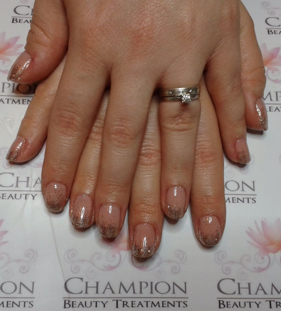CND Shellac nude knickers layered with romantique for a beautiful nude shade #shellac   Style