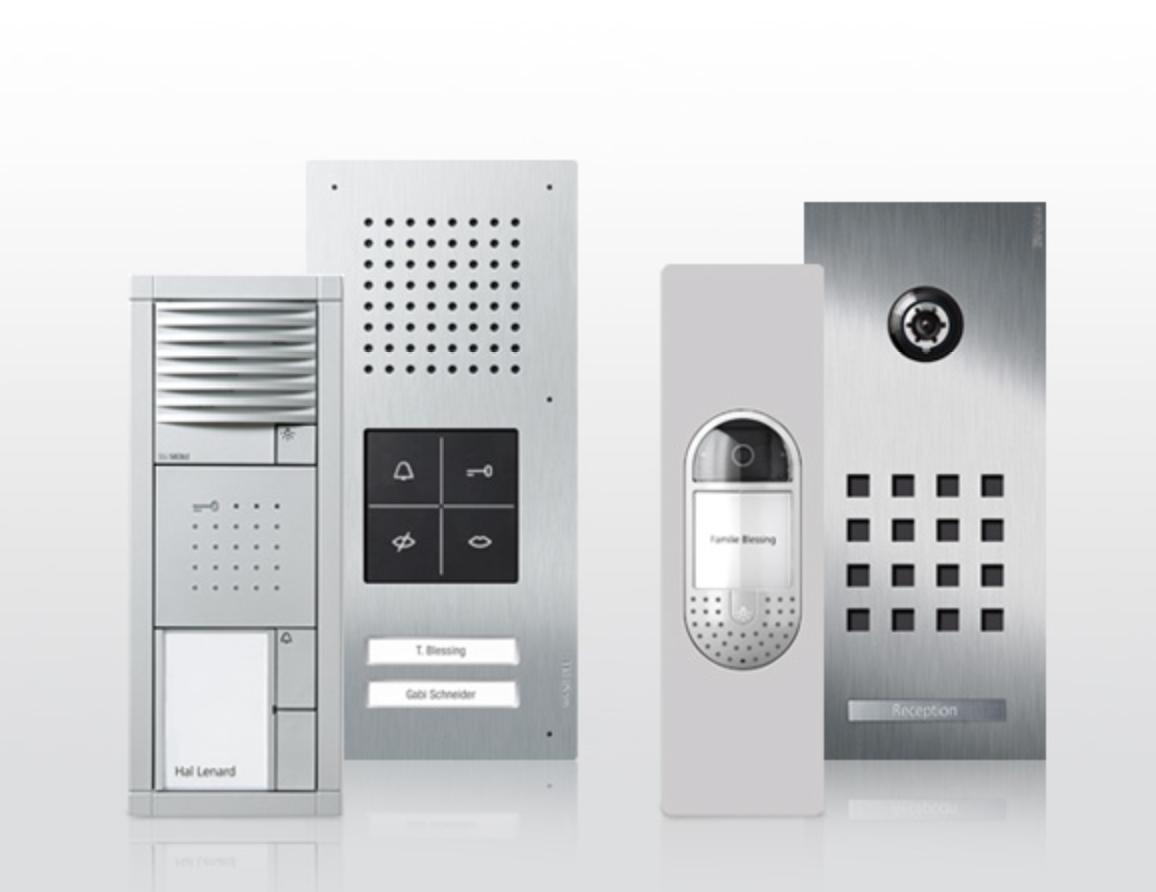 JUNG Door communication, Intelligent Building & lighting control ...