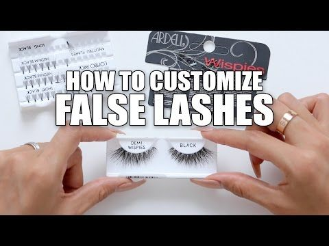 9abc296a470 HOW TO CUSTOMIZE FALSE LASHES | DESI PERKINS - YouTube | Crafts and ...