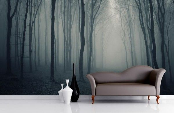 Fototapeten Wald - Genießen Sie die Ruhe der Natur! Wallpaper and