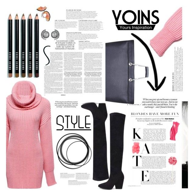 """YOINS - http://yoins.me/1PrM4be /// lovely to see you. <3"" by tatjana ❤ liked on Polyvore featuring Bobbi Brown Cosmetics, KAROLINA, women's clothing, women, female, woman, misses, juniors, yoins and yoinscollection"