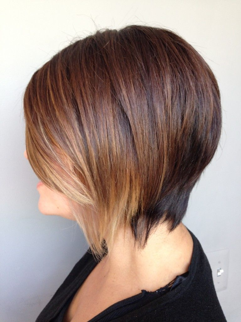 Looking for a new hairstyle try this fresh take on a classic bob