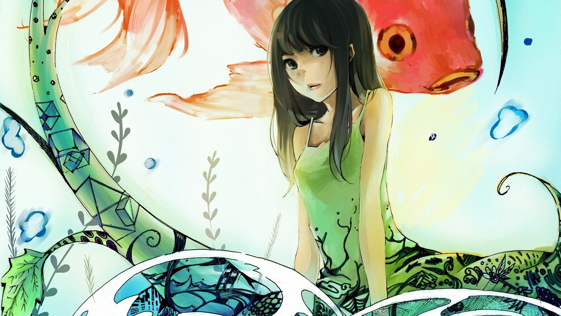 Abstract anime girls hd wallpapers anime hd wallpapers - Abstract anime girl ...