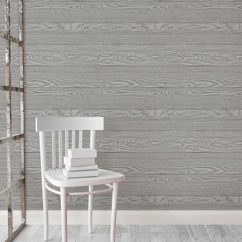 Wallpops Peel And Stick Shiplap Rustic Farmhouse Wallpaper Wood Wallpaper Wood Feature Wall Farmhouse Wallpaper