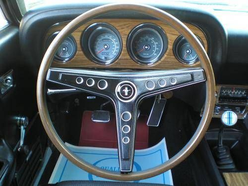 1969 Mustang Mach I Fastback Interior With Images Mustang