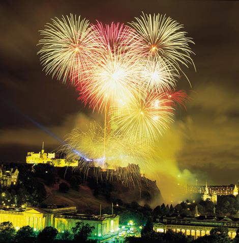 Edinburgh Castle, Hogmany. New Year's Eve 2011 I was on