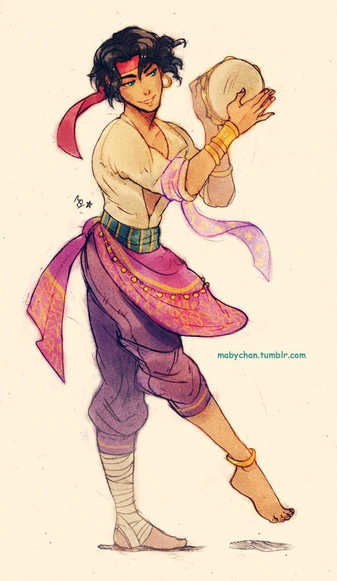 Male!Esmeralda 2 by MabyMin on DeviantArt