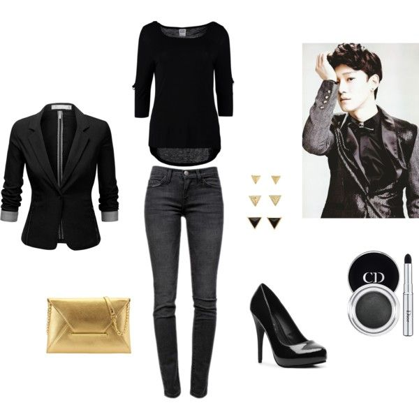 Exo Chen inspired outfit by pink-revolution on Polyvore featuring - vito küchen nobilia