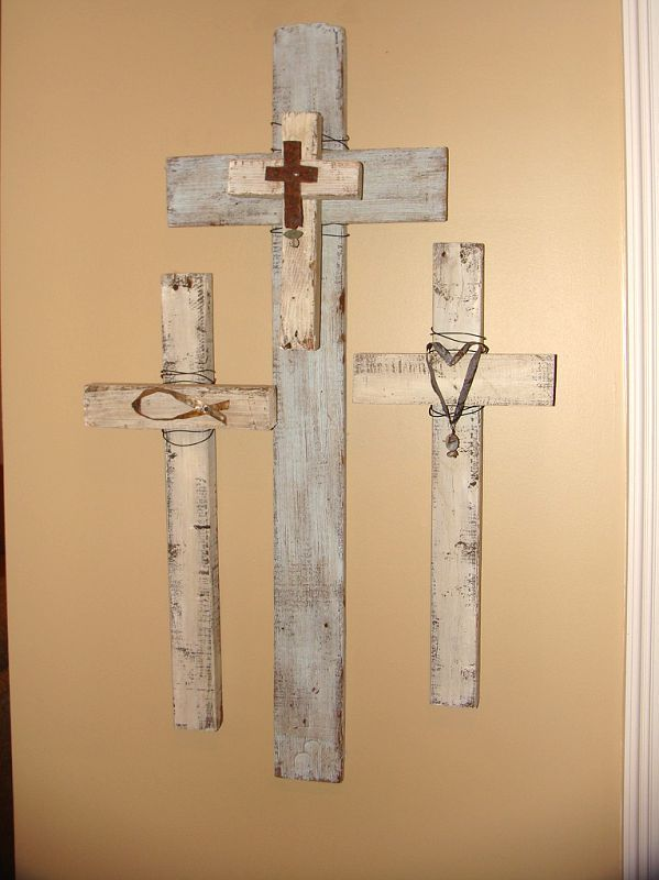 For Carley S Room But In Different Colors Rustic Wood Cross Cross Crafts Diy Cross