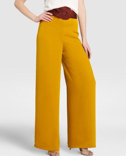 comprar popular a1870 ac729 Pantalón de fiesta de mujer Tintoretto con cinturón | Bodas ...