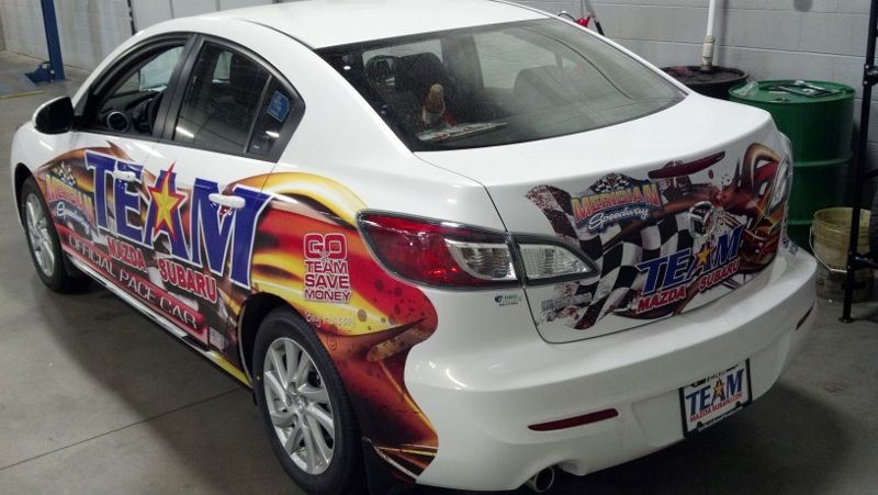 Team Mazda Subaru sponsors and supports the coolest track in Idaho