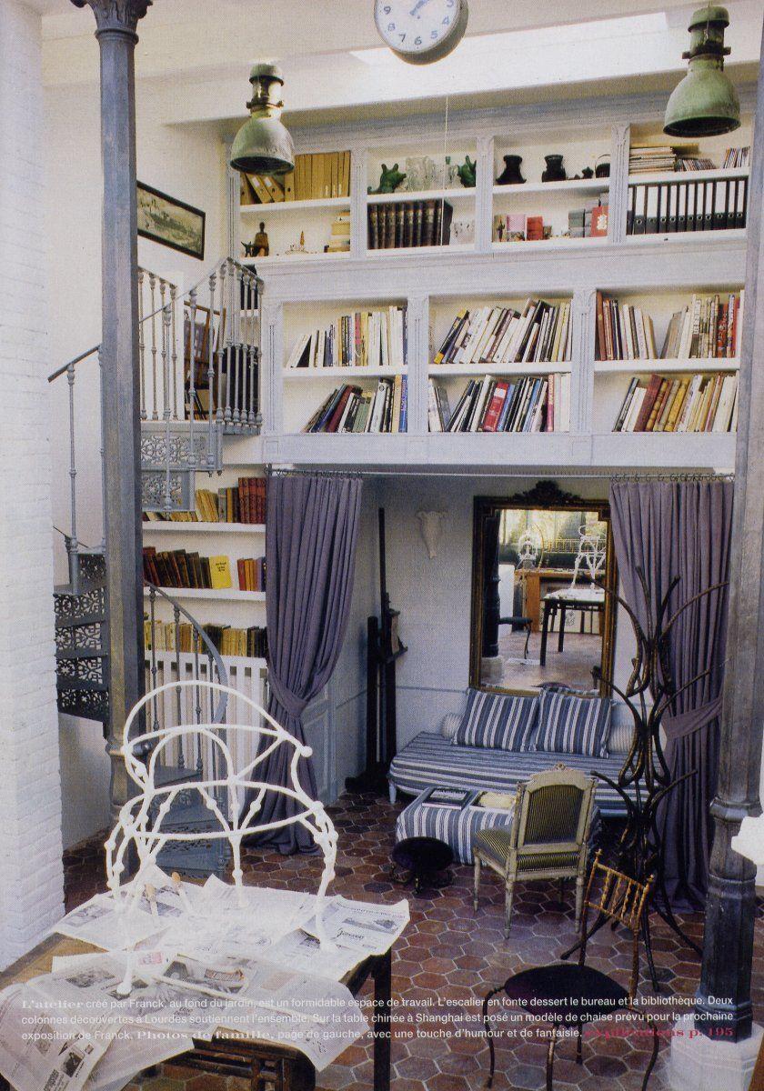 Atelier de Franck by Marianne Evennou. | Places & Spaces, etc ...