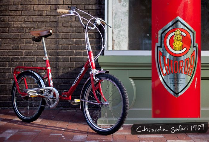 Safari Folding Bike