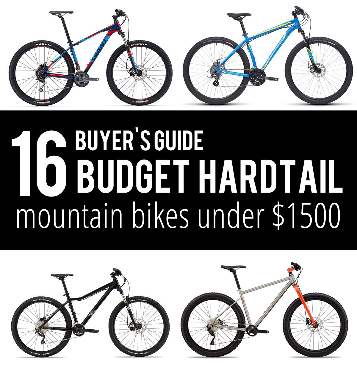 Buyer S Guide Budget Hardtail Mountain Bikes Hardtail Mountain
