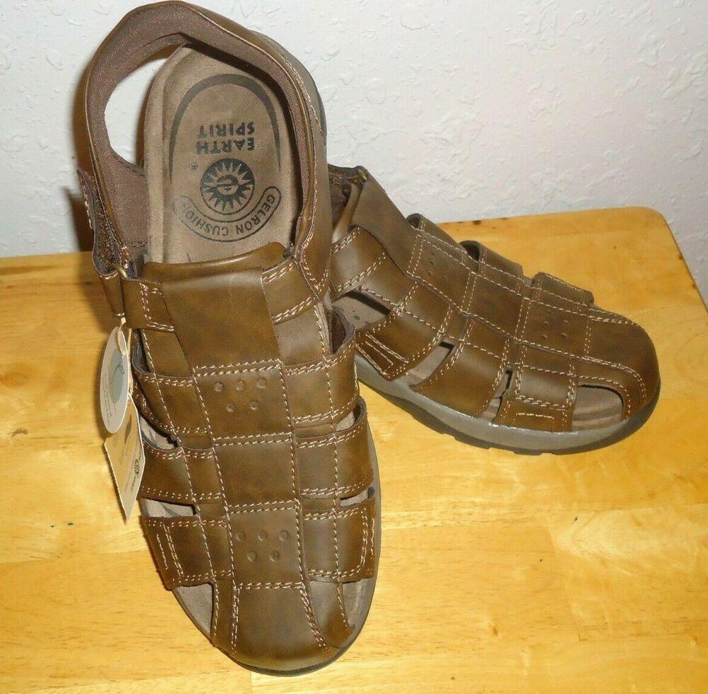 earth spirit gelron cushion sandals