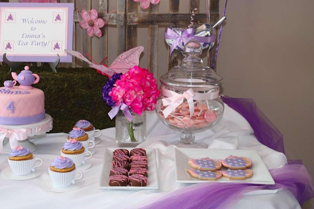 Tea Party Birthday Party Ideas | Photo 9 of 12
