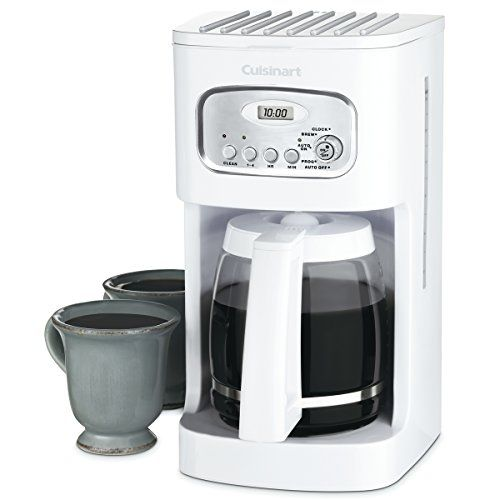 Cuisinart Coffee Maker 12 Cup White Continue To The Product At The Image Link Note It Is Affiliate Link To Ama Cuisinart Coffee Maker Coffee Coffee Maker