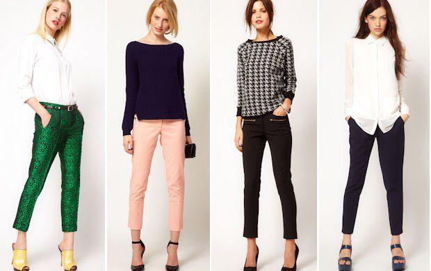 Jakie Buty Do Szerokich Spodni Szukaj W Google Fashion Style Capri Pants