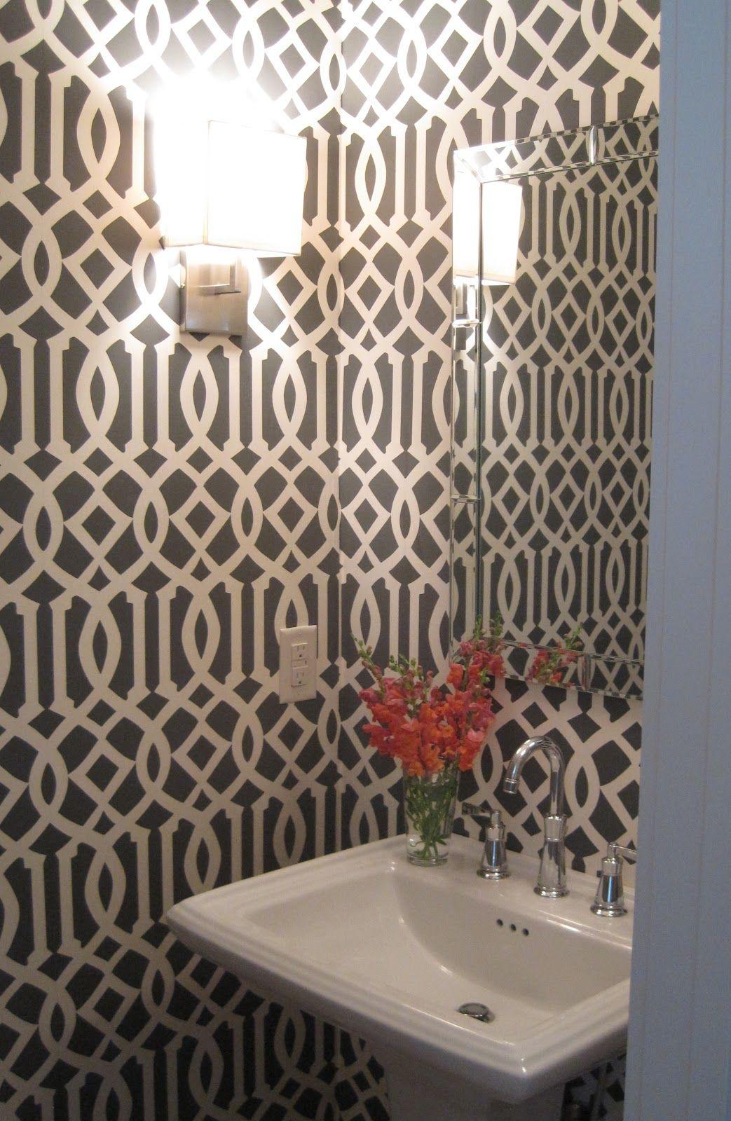 Best powder room wallpaper free hd wallpapers for Best room wallpaper