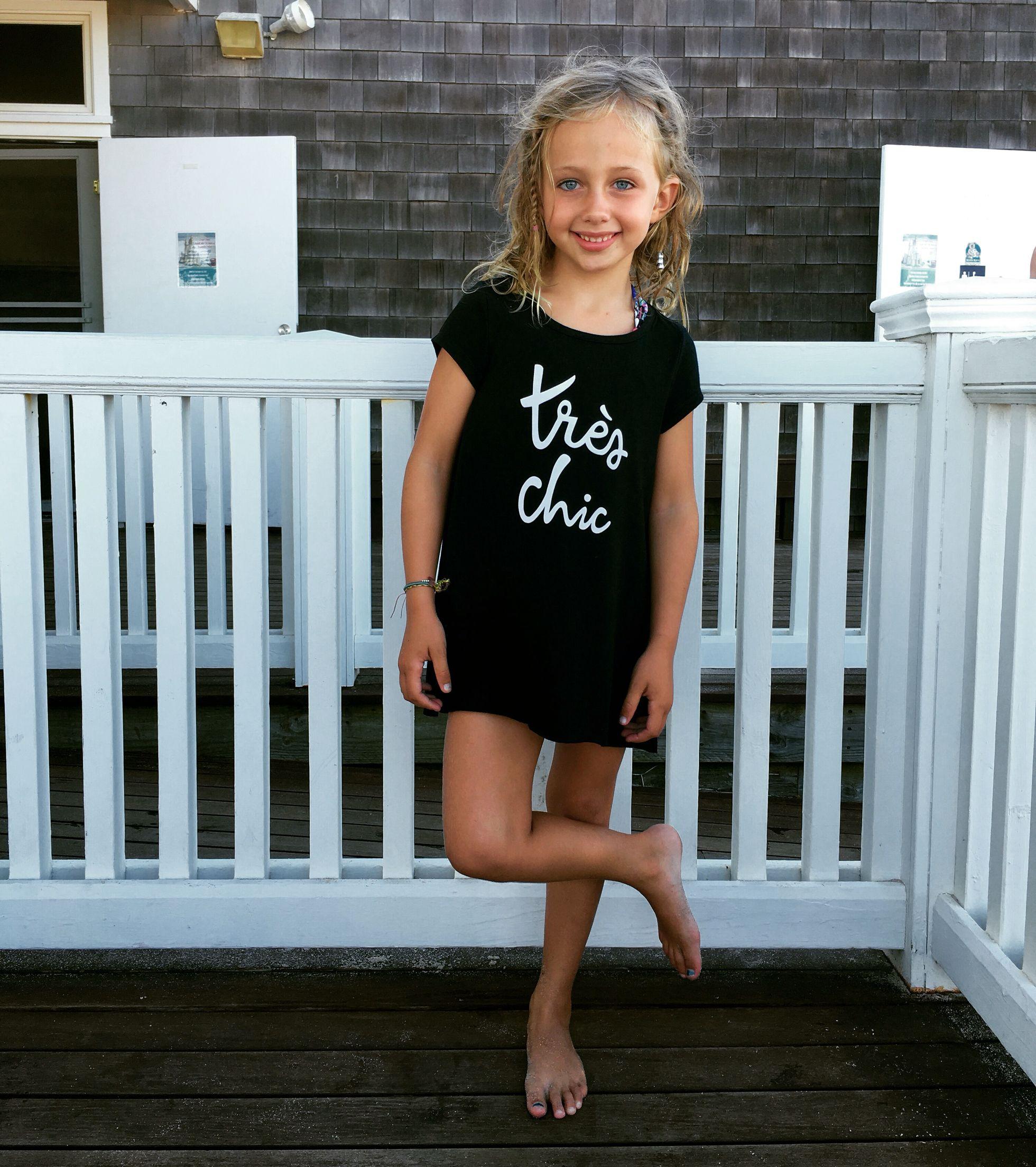 Fabkids Tr Chic Black T-shirt Dress #fashionista #