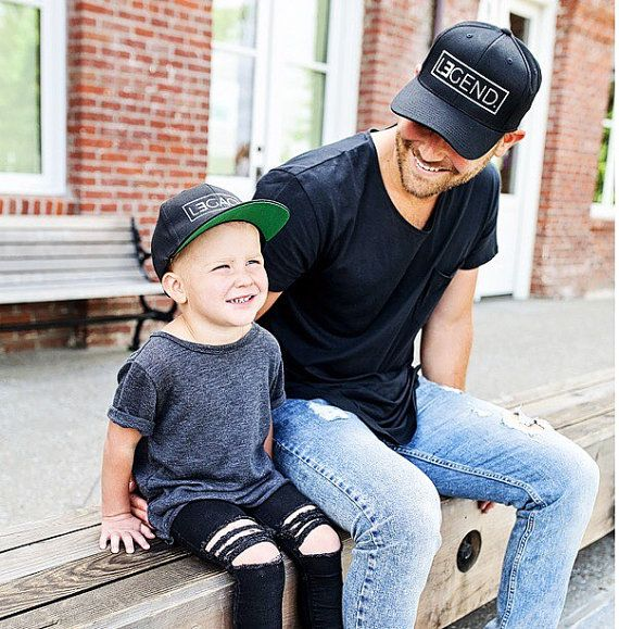 Daddy and Me Hats Daddy and Son Hats Dad and Son by tolittlearrows ... 88f620f21d4