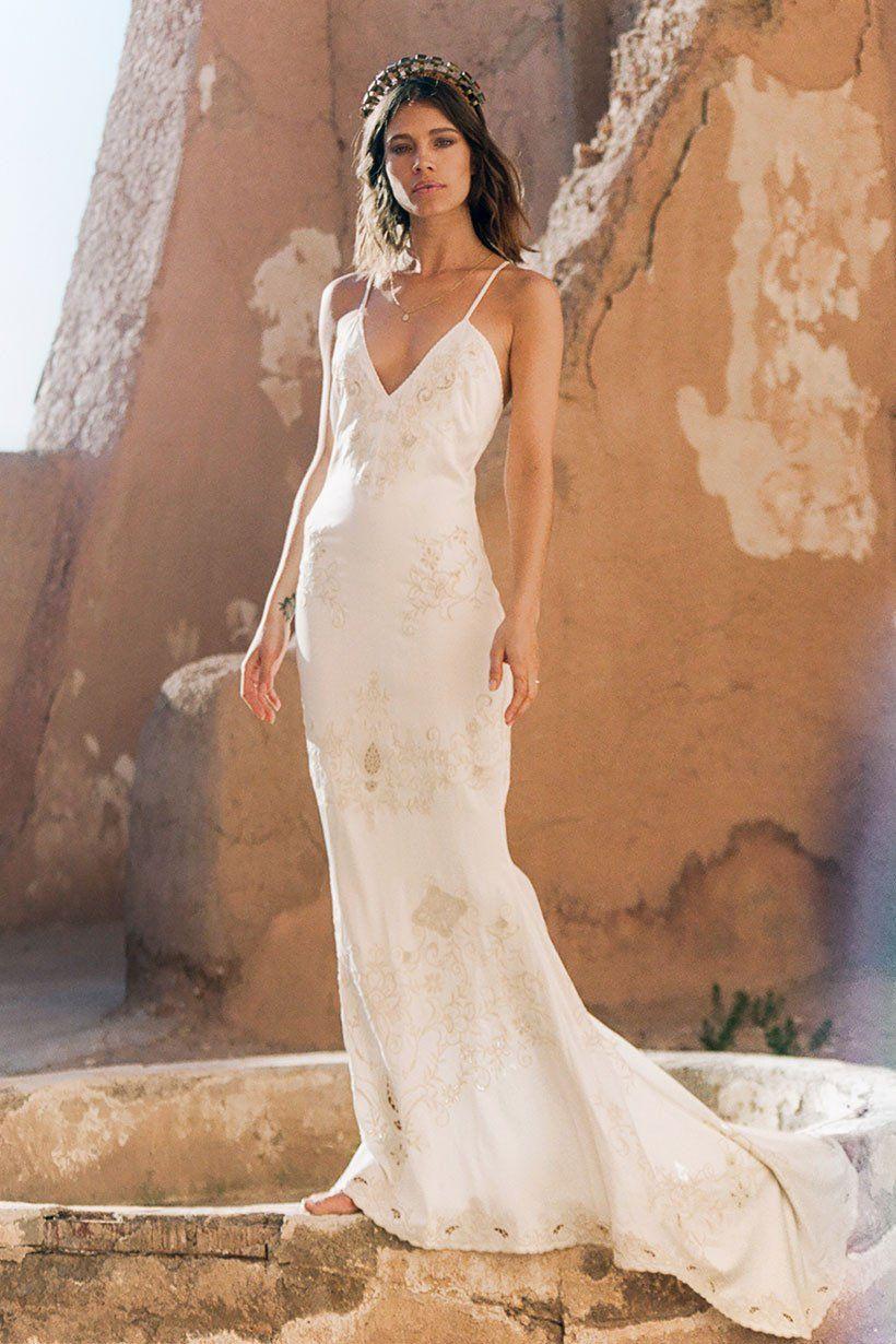 Mila De Wit Bourke Wears Spell Designs Odette Slip Dress Slip