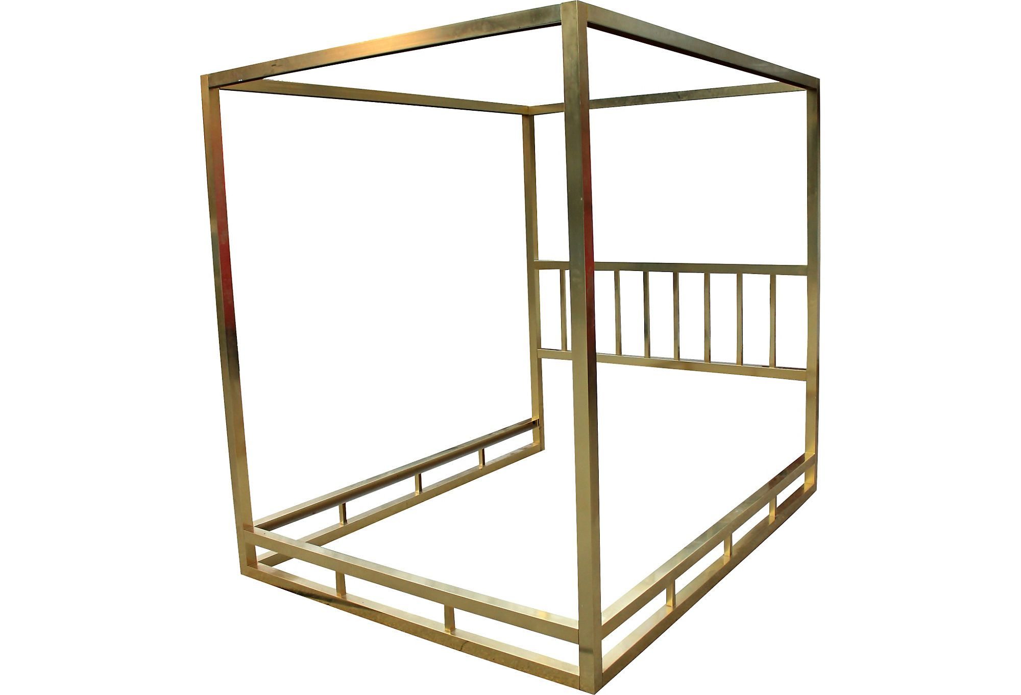 Best *Mg Brass Plated Canopy Bed Frame Unique Office Decor 400 x 300