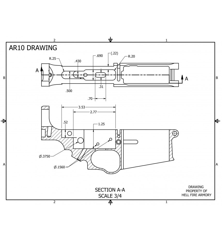 Ar 10 lower receiver ar10 dpms 308 308 jig gun stuff for My blueprint arkansas