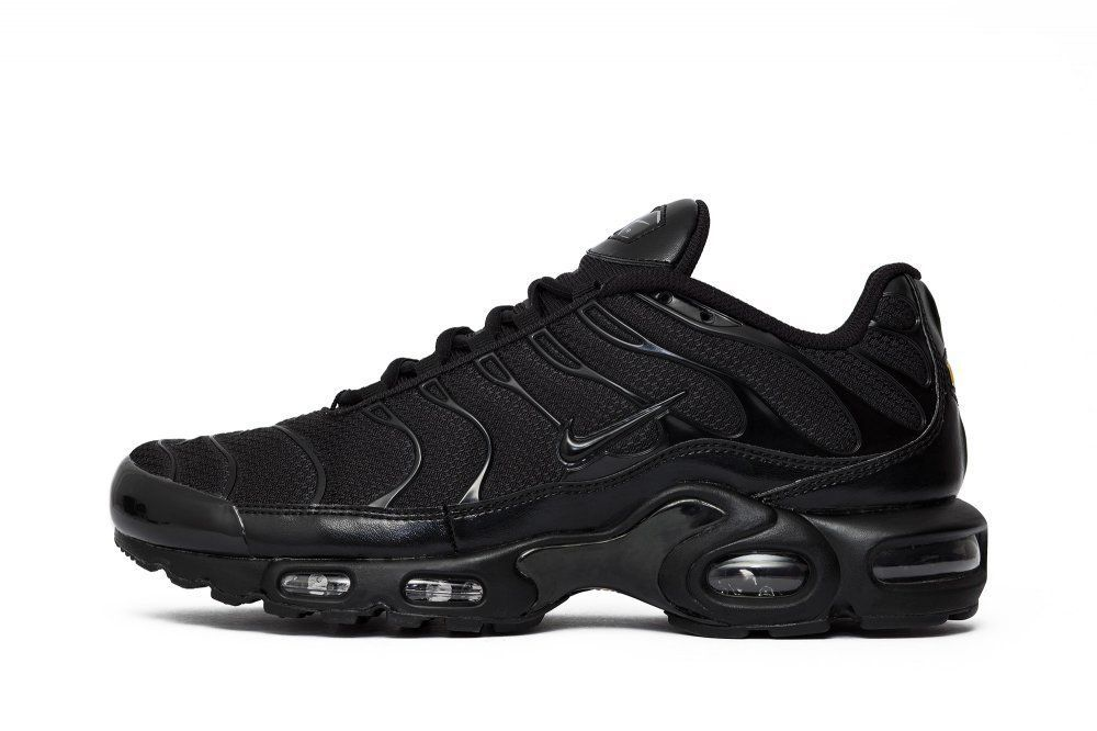Nike Air Max TN Tuned AIR ALL TRIPLE BLACK rare #Nike