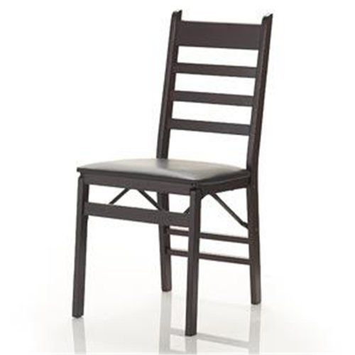 Winsome Wood Folding Chairs, Natural Finish