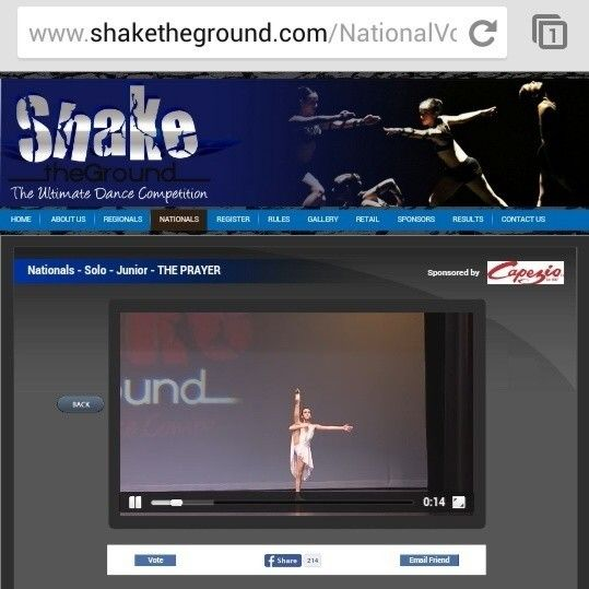 Please share this link and vote for Natilie's dance! thank you! http://bit.ly/1sm2rIA   #dance #vote #dancer #theprayer #video #andreabocelli #celinedion #votes #dancecompetition #finals #nationals
