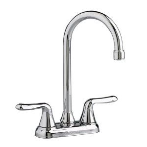 Bar Sink Faucet Cadet Double Handle Bar Faucet Centerset With Metal Lever Handles 1 5 Gpm And Ceramic Cartridge Bar Faucets Bar Sink Faucet Bar Sink