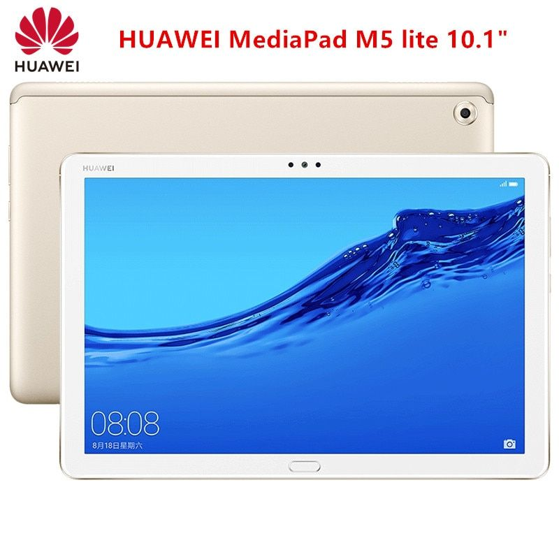 Original Huawei Mediapad M5 Lite 10 1 Bah2 W09 Wifi Tablet Pc 4gb 64gb Android 8 0 Hisilicon Kirin 659 Octa Core Ips Screen 8mp With Images 64gb Tablet Huawei