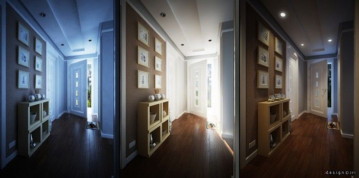 3 Lighting Settings For One Superb Scene Interior Lighting Light Colors Interior