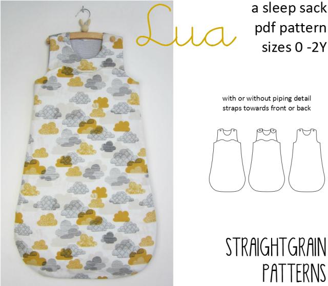 Lua Sleep Sack Pattern BABY DIY Pinterest Sewing Sleep Sacks Adorable Sleep Sack Pattern
